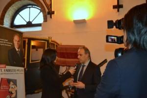 Intervista F. Melfa – TeleOne 'Dillo a Figuccia' puntata n°37 – La Dieta dei Pupi Siciliani