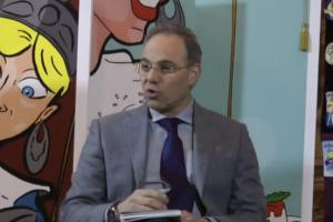"""La presentazione de: """"La dieta dei Pupi Siciliani"""" di Fabrizio Melfa Intervista su Teletermini – video"""