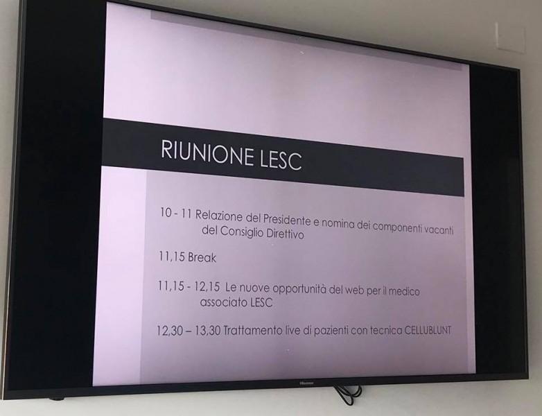 riunione LESC